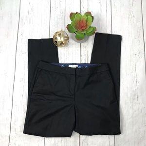 Boden Black Straight Leg Cropped Career Pants 12L